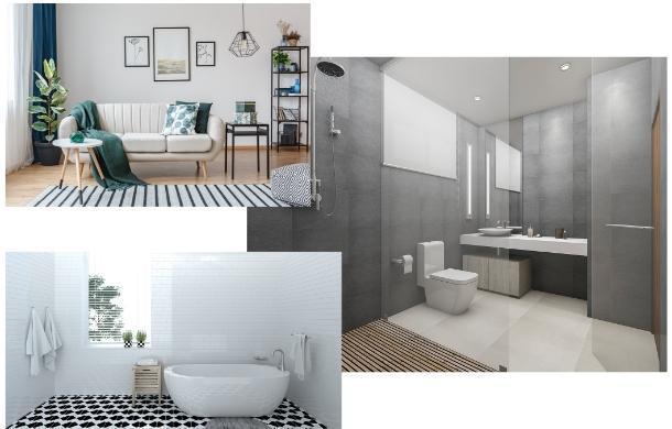 Zdjęcia realizacji łazienek